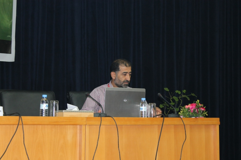 Presentation at the conference