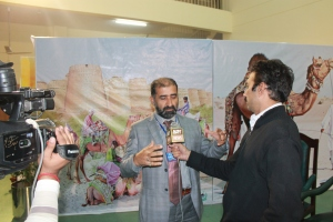 Interview about camel production and pastoralism to the local tv channel of ARY